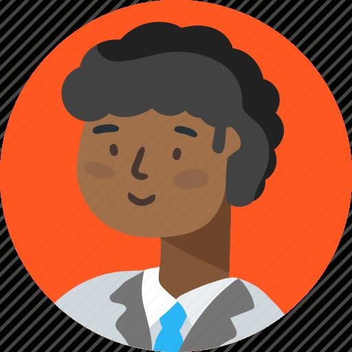 account, avatar, boy, person, profile, researcher icon