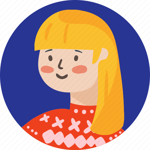 avatar, girl, people, person, school, woman icon