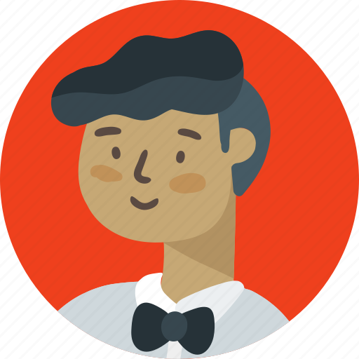 assistant, avatar, boy, male, software, waiter icon