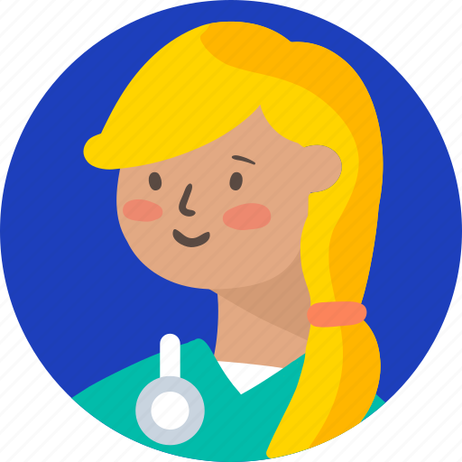 avatar, doctor, girl, health, medical, people, woman icon
