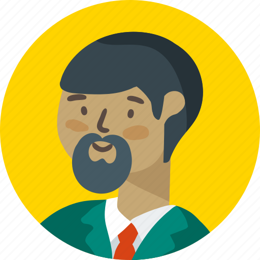 avatar, business, face, people, person, scientist icon