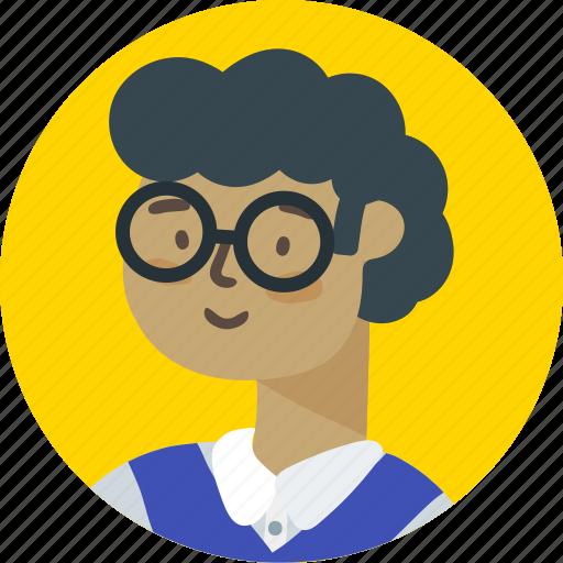 account, avatar, boy, person, profile, user, writer icon