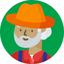avatar, farmer icon