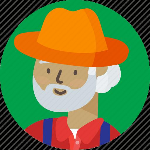 avatar, farmer icon