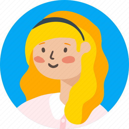 avatar, employee, girl, person, profile, user, woman icon
