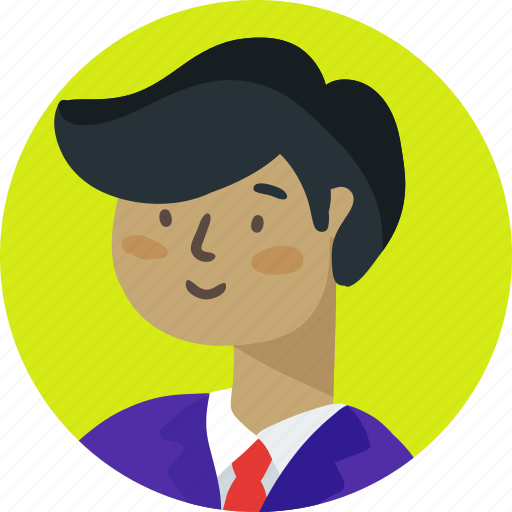 avatar, boy, business, business man, people, person, student icon