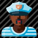 avatar, human, portrait, profile, sailor, user