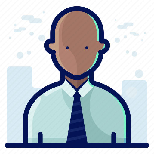 account, avatar, bald, male, man, people, user icon