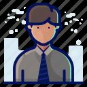 account, avatar, male, man, people, user
