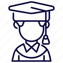 avatar, cap, congrats, degree, graduated, university