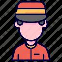 avatar, doorman, human, man, porter icon