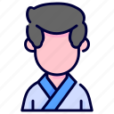 avatar, boy, karate, man, sport, sportsman icon