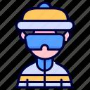 snowboarding, winter, snowboarder, avatar, snowboard, sport, sports icon