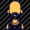 avatar, crime, gangster, hoodlum, man, ruffian, thug