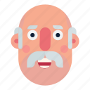 avatar, character, head, man, portrait, social, user icon