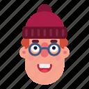 avatar, character, head, man, portrait, social, user