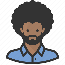 african american, afro, avatars icon