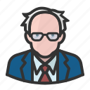 avatar, bernie sanders, man, old man, persona, user icon
