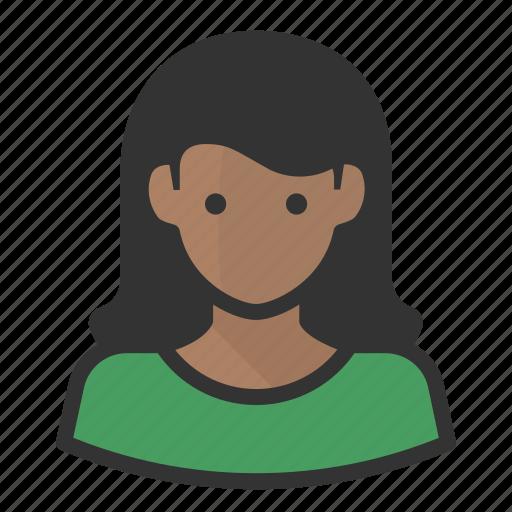 african american, avatar, avatars, woman icon
