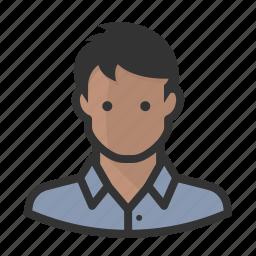 avatar, avatars, indian, man icon