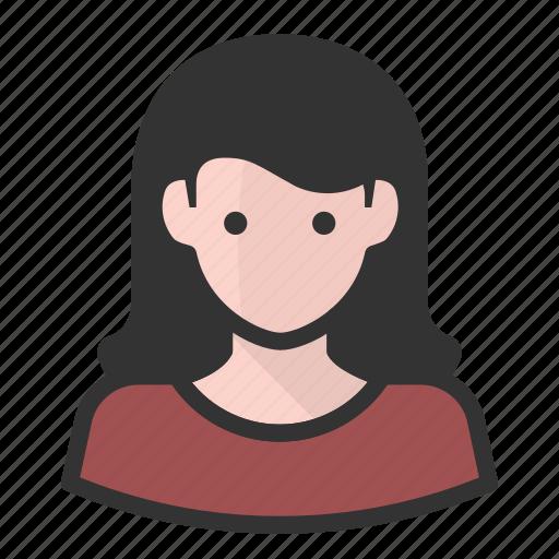 avatar, avatars, girl, woman icon