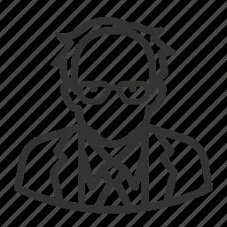 avatar, avatars, bernie sanders, man icon