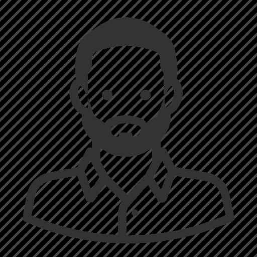 avatar, beard, boy, man, people, persona, user icon