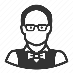 avatar, man, professor icon