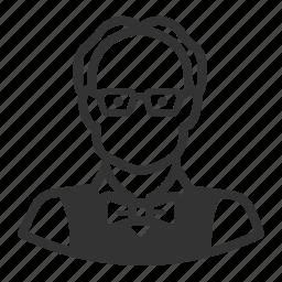 avatar, avatars, man, professor icon
