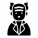 avatar, character, oldman, professor, profile