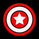 avengers, captain america, marvel, superhero icon