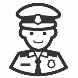 aircrew, airport police, captain, cop, immigration, navy, officer icon