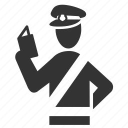 cop, immigration, officer, passport control, police, security, security check icon