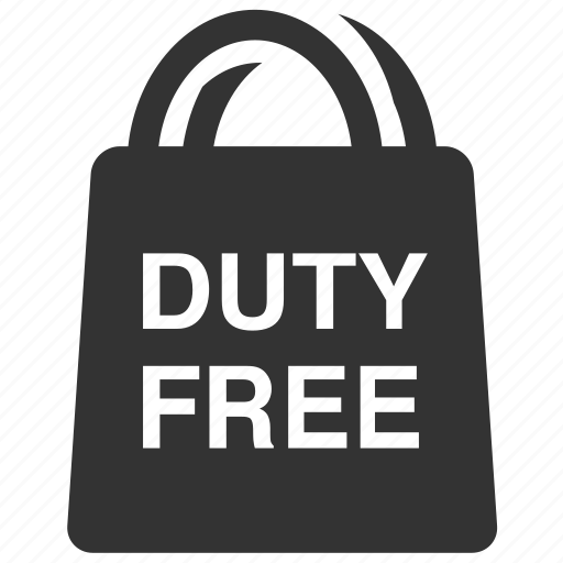 airport shop, bag, duty free, shop, shopping, shopping bag, travel icon
