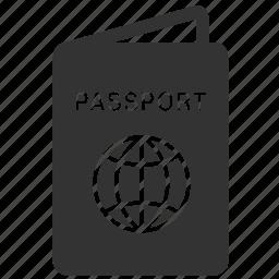 id, passenger, passport, tourism, tourist, travel, traveller icon