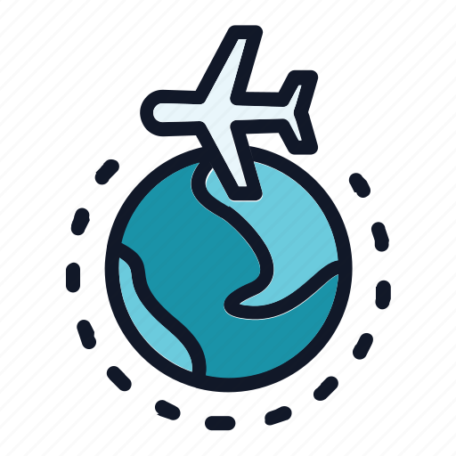 air, aircraft, aviation, plane icon