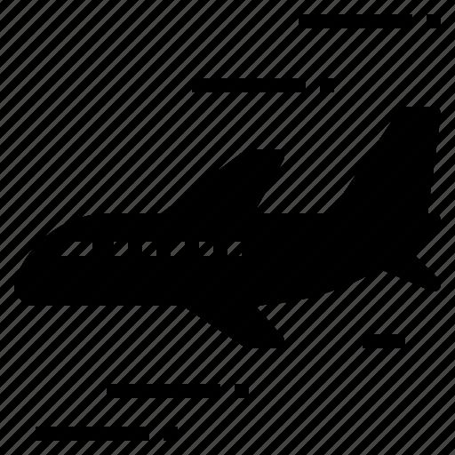 aircraft, aviation, flight, plane, transportation, travel icon