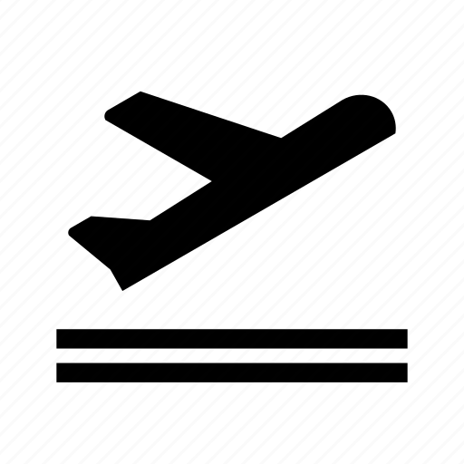 airplane, departure, flight, take off, travel icon