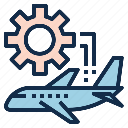 aviation, check, engine, maintenance, plane, repair icon