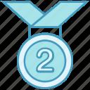 award, badge, medal, prize, reward, ribbon, win