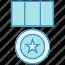 1st, award, badge, medal, prize, reward, win