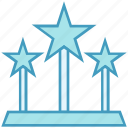 badge, reward, award, win, medal, stars, prize