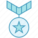 award, badge, medal, prize, reward, star, win icon