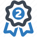 place, second, winner icon