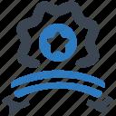 star, reward, badge icon
