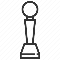 award, badge, honor, prize, trophy, victory, winner icon