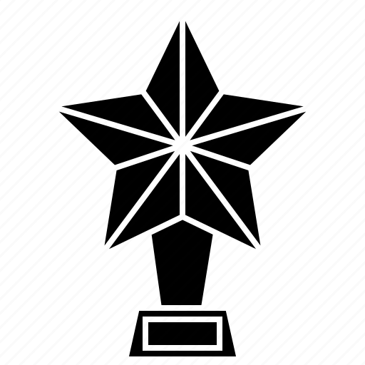award, golden, prize, star, trophy icon