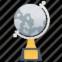 crystal, globe, successful, trophy, world icon