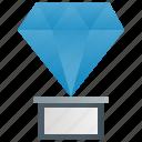 award, crystal, diamond, prize, trophy icon