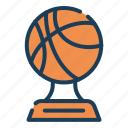 tournament, award, winner, basketball, sport, competition